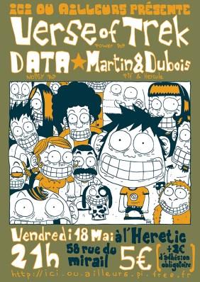 Verse of Treck - DATA - Martin & Dubois