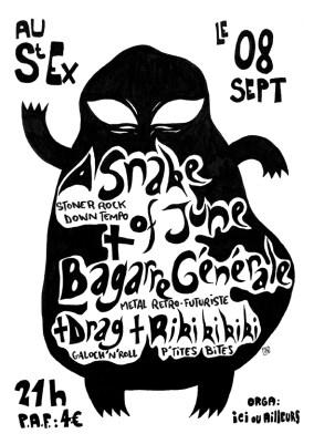 A Snake of June - Bagarre Générale - Drag -Rikikikiki