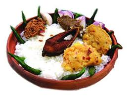 Panta-Ilish (Watery Rice and Hilsha Fish)