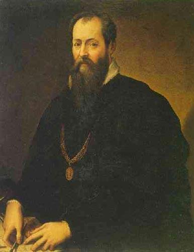 """Giorgio Vasari, """"Zelfportret"""" (c1567)"""