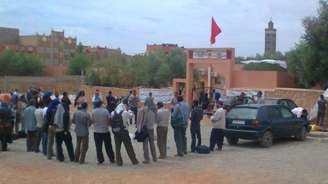 تنغير: أساتذة سد الخصاص يعتزمون الدخول في إضراب