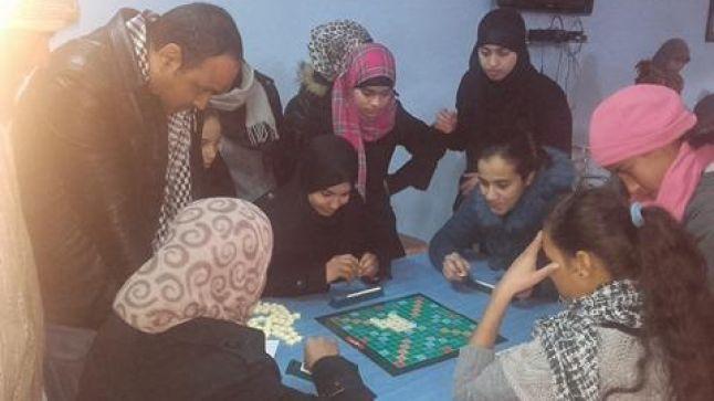 جمعية الشعلة للتربية و الثقافة فرع العروي تنظم دوري العروي الأول في لعبة السكرابل