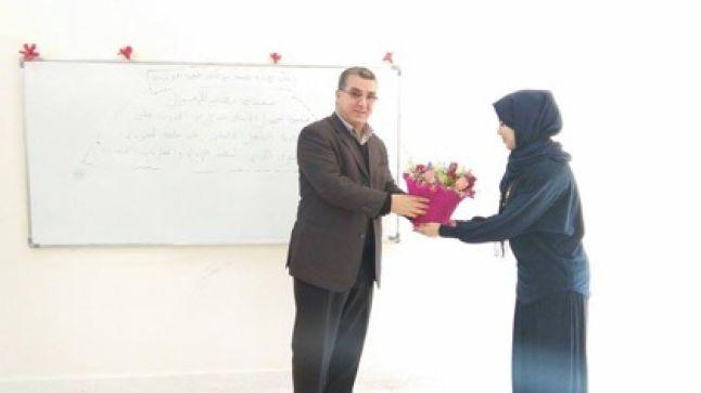 طلبة وطالبات ديداكتيك اللغة العربية بمراكش يحتفلون بأستاذهم