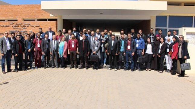 الملتقى العلمي الدولي لأنظمة الاتصال وتكنولوجيات المعلومة بالمدرسة الوطنية للعلوم التطبيقية بخريبكة