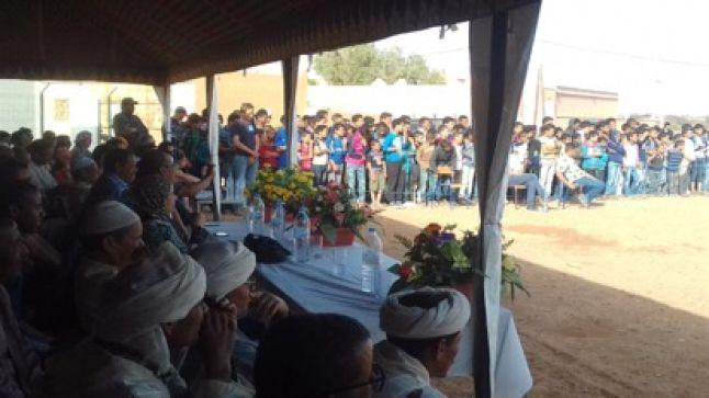 زاكورة: تكريم نزيلات دار الطالبة و جمعية Fred Rally الفرنسية في حفل بهيج بايت بوداود