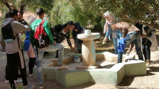 طاطا: الثانوية الجديدة تحتفل باليوم العالمي للماء.