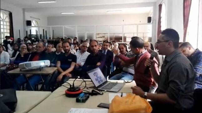 ثانوية الحسن الثاني بآسفي توقع مشروعا ب 520 ألف درهم.. فيديو