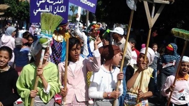 آسفي: الفدش تنظم مسيرة إحياء لليوم العالمي لمحاربة تشغيل الطفل