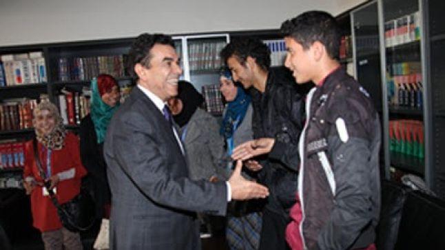 لقاء بين الوزير وتلاميذ الثانوية التأهيلية بومالن دادس
