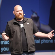 Erik Hersmann hält Auftaktrede auf der re:publica 13