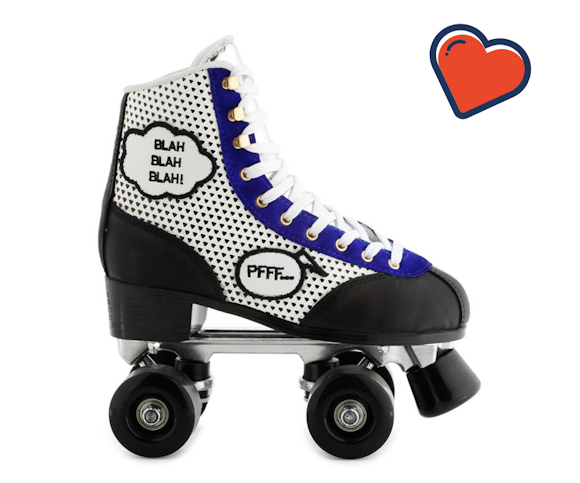 ces patins style retro donnent envie de