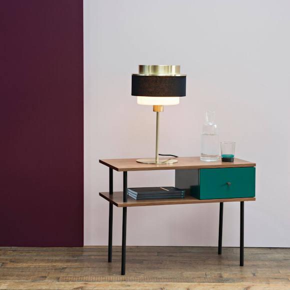table de chevet style industriel maison