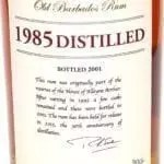 Foursquare distillery 1985 old barbados rum