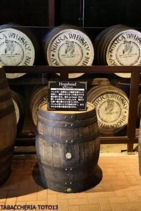 Visita distilleria Miyagikyo Nikka whisky TABACCHERIA TOTO13-5