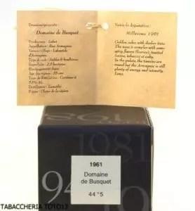 Note degustative armagnac Darroze 51y.o.