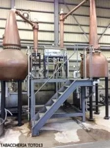 alambicchi pot still distilleria Nine leave