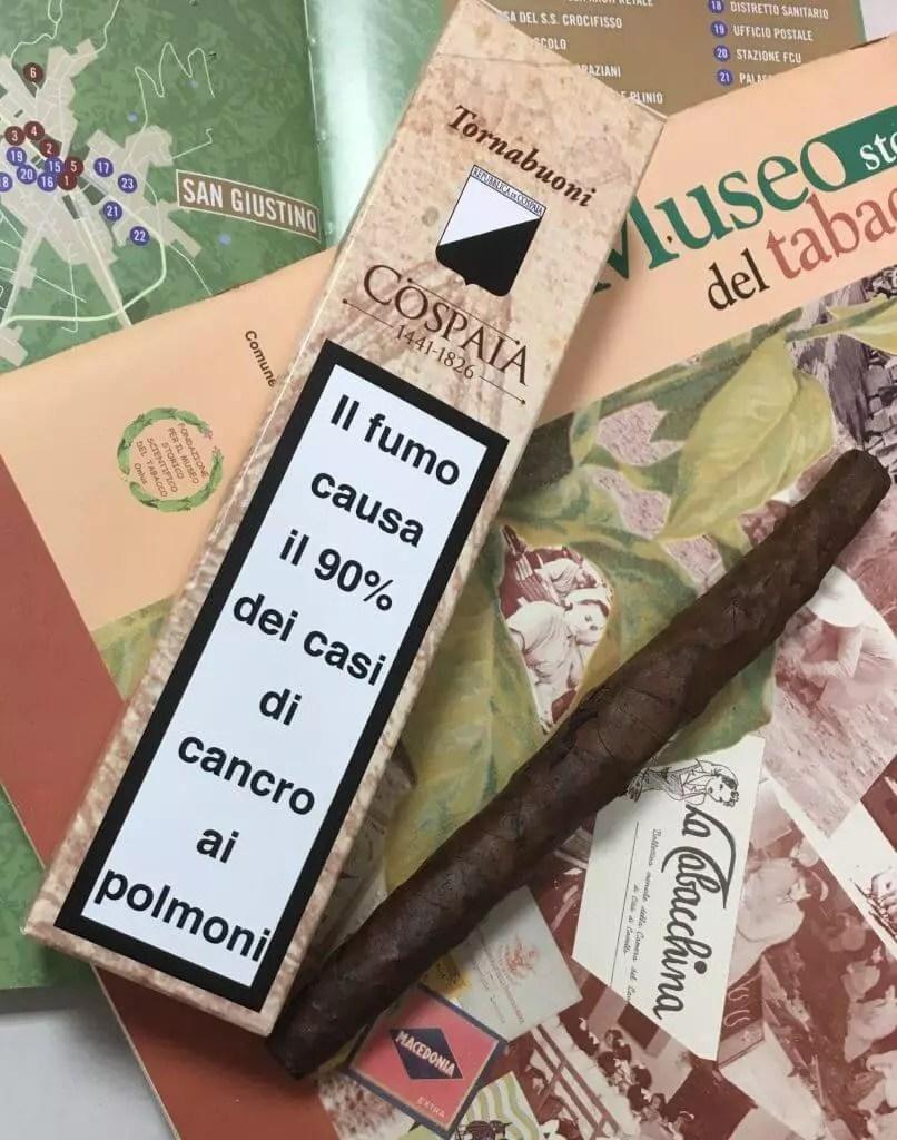 Sigaro tornabuoni Cospaia Limited edition