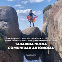Docenas de activistas se juegan la vida (literalmente) por Tabarnia