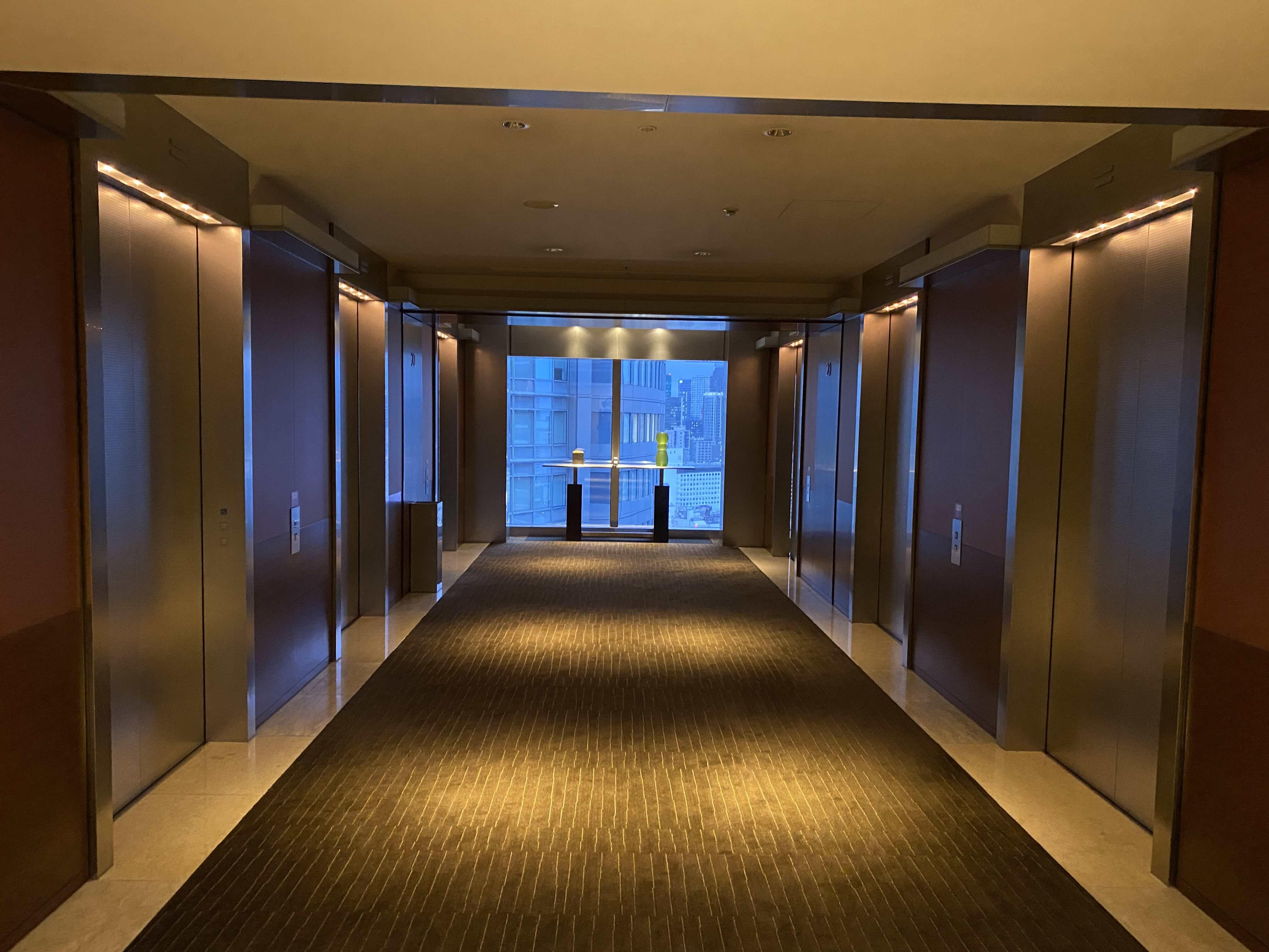 エレベーターフロア/グランドハイアット東京