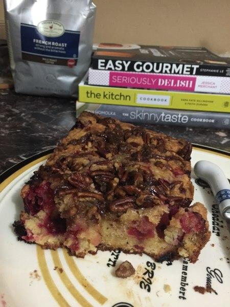 Devoured cranberry cake