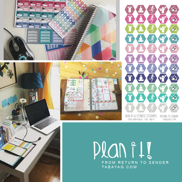PlanIt! Free printable planner stickers and planner printables