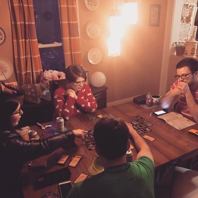 WE ARE IN A HAUNTED HOUSE gamenight