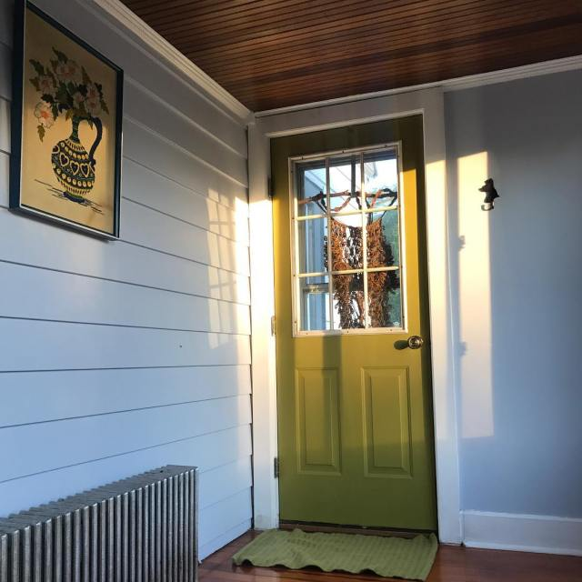 Sometimes painting a door can change your whole world
