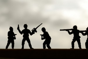 Toy Soldiers by Kyle May