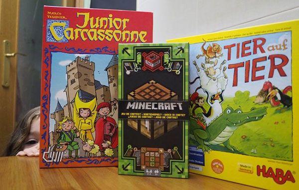 3 Juegos de mesa infantiles