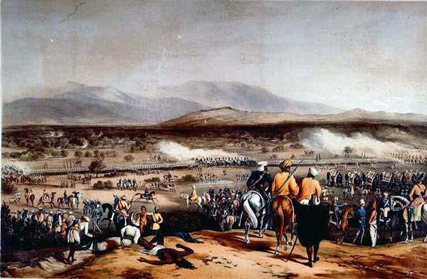 La batalla de Chillianwala - brigada ligera