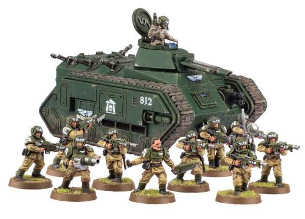 Regimiento de Cadia - Astra Militarum