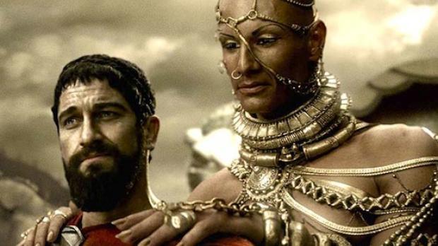 Leónidas y Jerjes