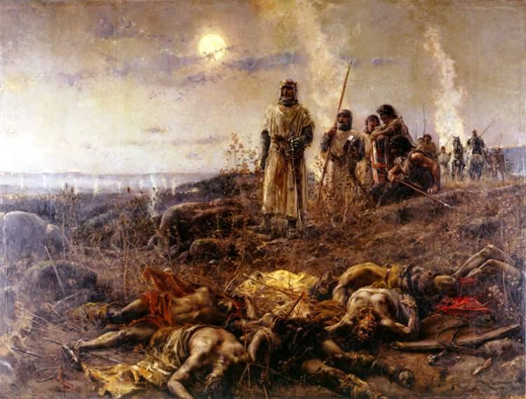 El barranco de la muerte, de Agustín Salinas Teruel. Ca. 1891-1892. (Diputación Provincial de Zaragoza).