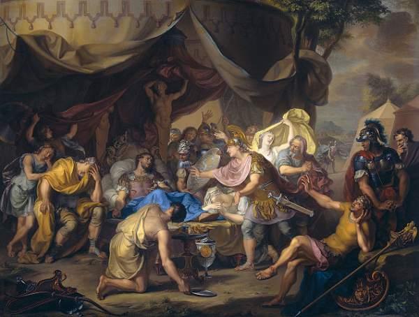 La muerte de Epaminondas