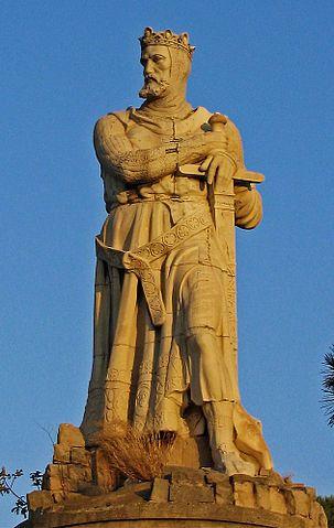 Estatua de Alfonso I el Batallador