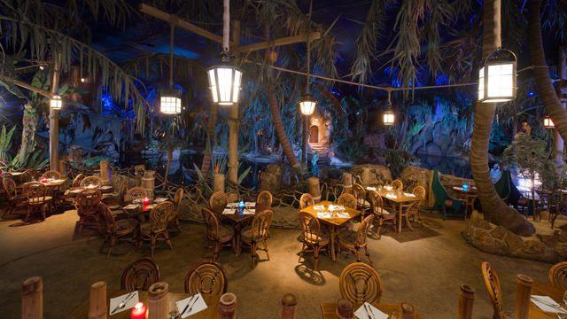 Piratas del Caribe - restaurante