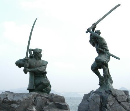 Duelo Musashi y Kojiro - El libro de los cinco anillos