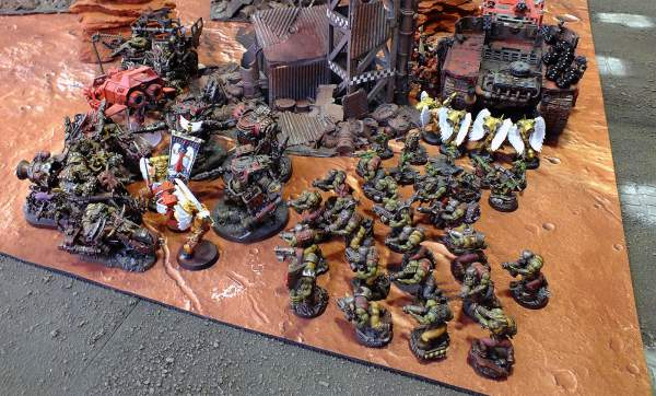 Informe de batalla - combate