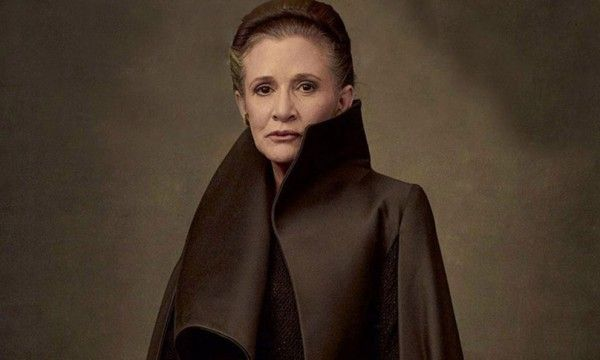 Los últimos jedi - Leia Organa