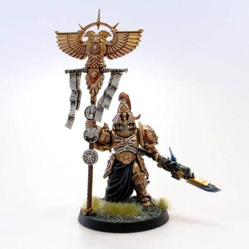 Adeptus Custodes - Pretor Vexillus