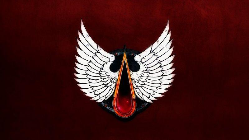 angeles sangrientos en octava logo