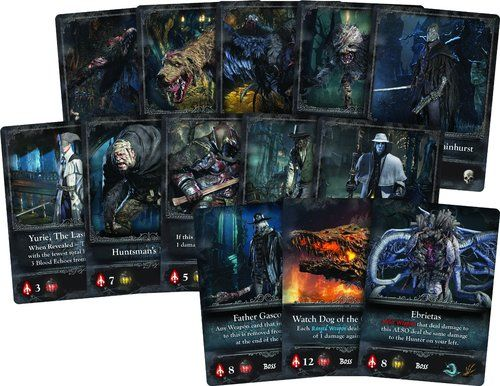 Bloodborne cartas
