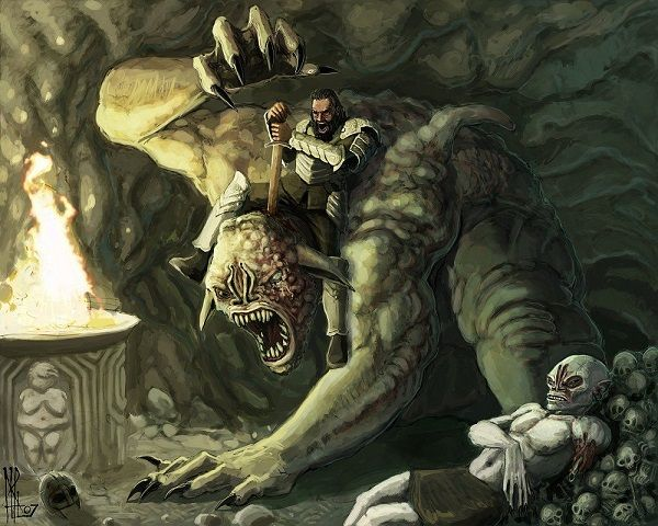 Los devoradores de cadaveres-Beowulf
