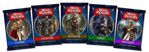 Hero realms personajes