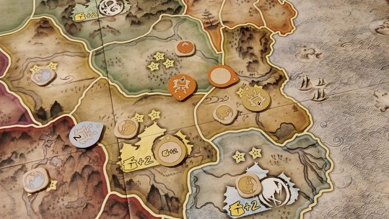 Batalla por Rokugan – fichas