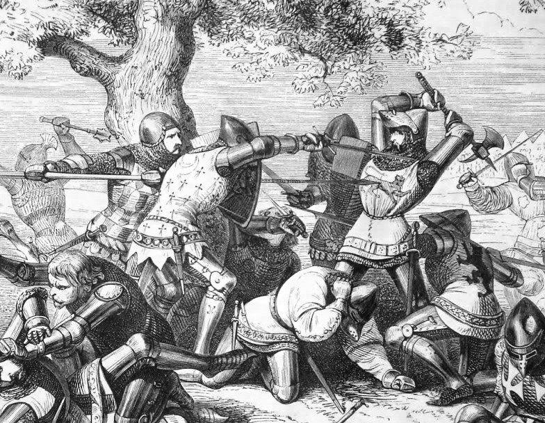 Combate de los treinta - Muerte de Bembrough