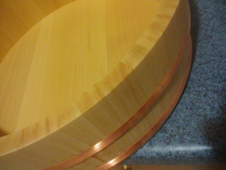 Handai ou Hangiri, le bol traditionnel en bois dans la cuisine japonaise