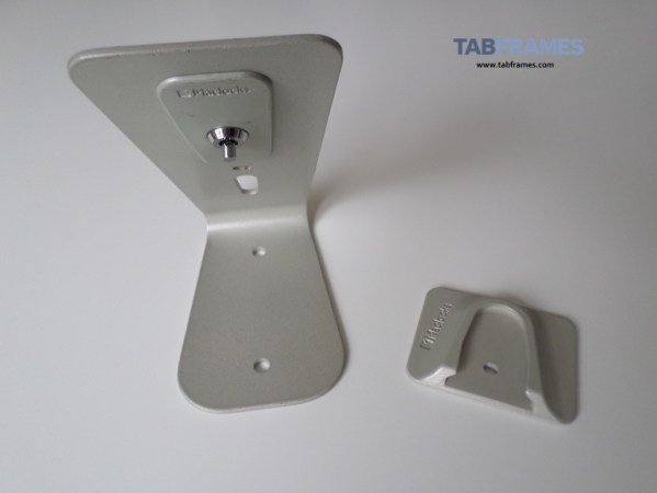 Picture of rear of HoverTab with security plate