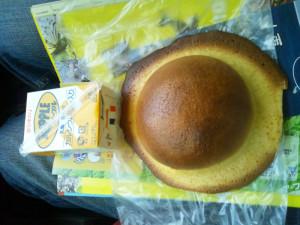 帽子パンとリープル