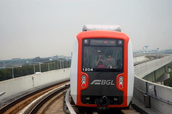 釜山-金海軽電鉄